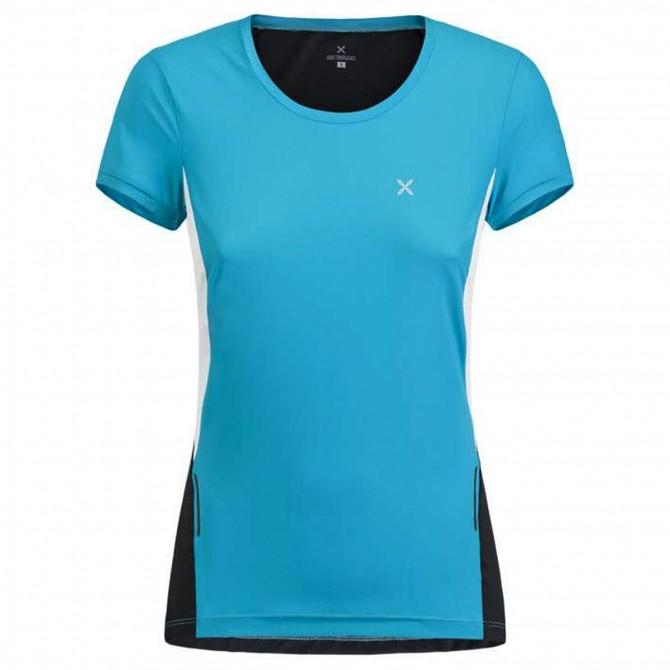 T-shirt running Montura Run Mix Femme bleu clair