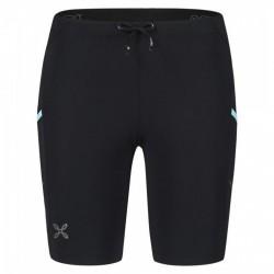 Shorts running Montura Fit Mujer negro-azul
