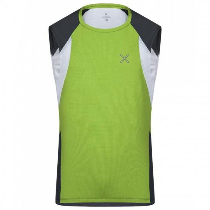 T-shirt running Montura Spirit Hombre verde