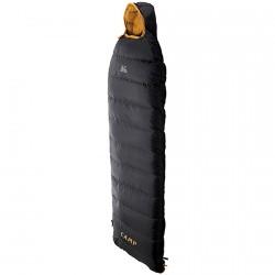 Saco de dormir C.A.M.P. Inuit negro-naranja