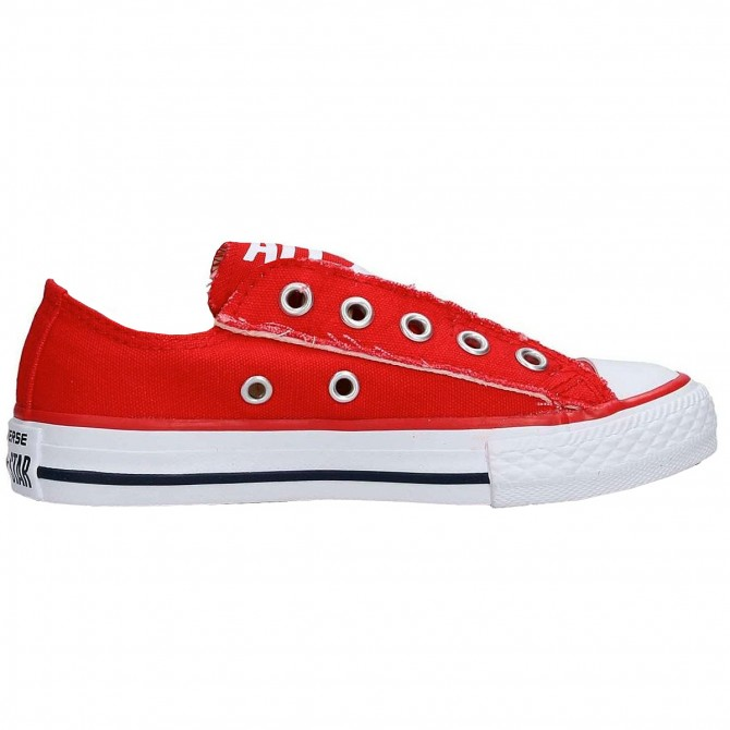 Sneakers Converse All Stars Slip Junior rosso (20-26)