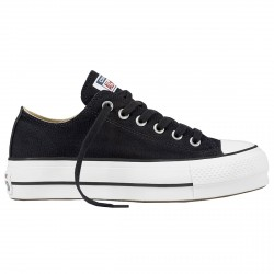 Sneakers Converse Chuck Taylor All Star Lift Clean Core Mujer negro