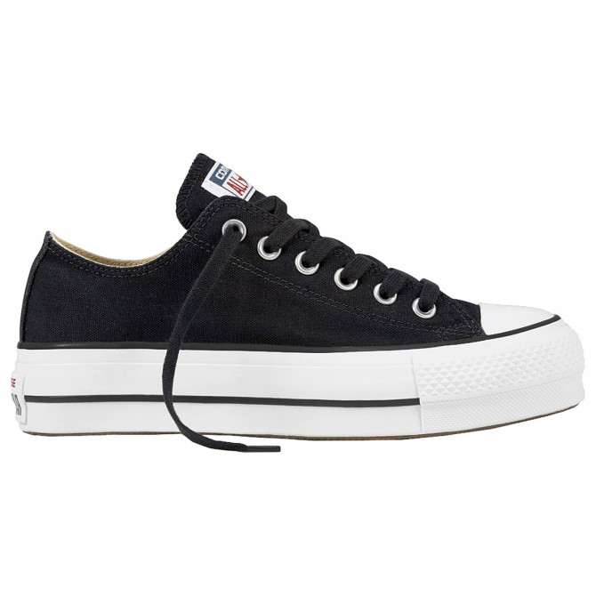 399fa834f572 ... Sneakers Converse Chuck Taylor All Star Lift Clean Core Woman black ...