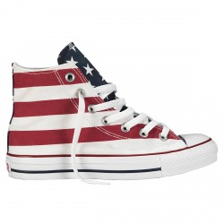Scarpe Converse All Star Hi Canvas Core America