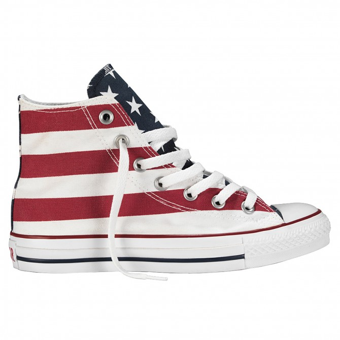 Scarpe Converse All Star Hi Canvas Core America
