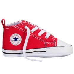 Sneakers Converse Chuck Taylor First Star Baby rosso