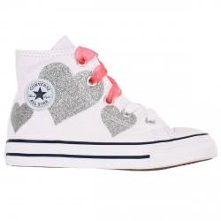 Sneakers Converse Chuck Taylor All Star Girl con cuori