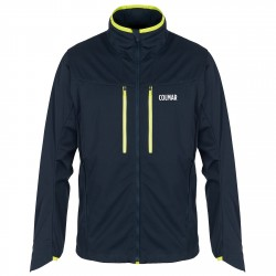 Softshell outdoor Colmar Trail Uomo blu-lime