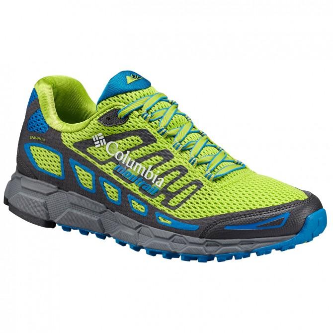 Chaussures trail running Columbia Bajada III Homme vert
