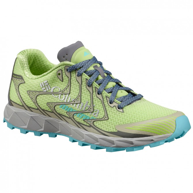 Zapatos trail running Columbia Rogue F.K.T. II Mujer verde