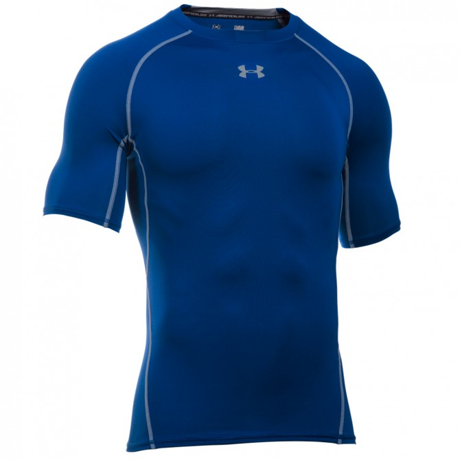 T-shirt running Under Armour UA HeatGear Armour Compression Homme