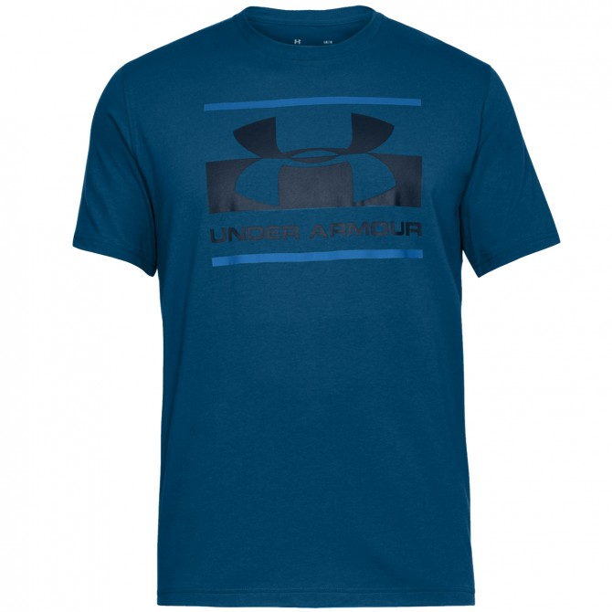 T-shirt running Under Armour UA Blocked Sportstyle Logo Homme