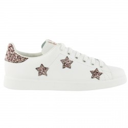 Sneakers Victoria Femme avec étoiles glitter