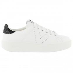 Sneakers Victoria Mujer blanco-negro