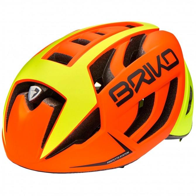 Casco ciclismo Briko Ventus naranja