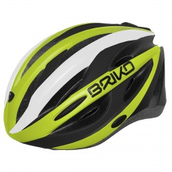Bike helmet Briko Shire yellow-black