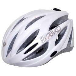 Casco ciclismo Briko Shire bianco