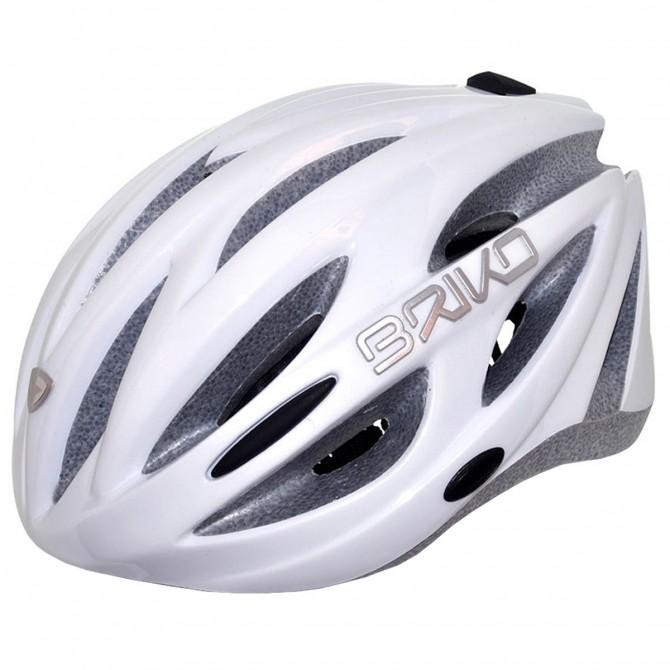 Casco ciclismo Briko Shire blanco