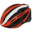 Casco ciclismo Briko Shire naranja-negro