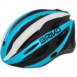 Casque cyclisme Briko Shire bleu-blanc