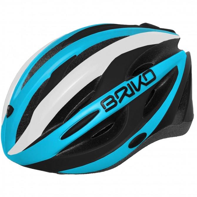 Casco ciclismo Briko Shire azul-blanco