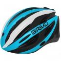 Casco ciclismo Briko Shire blu-bianco