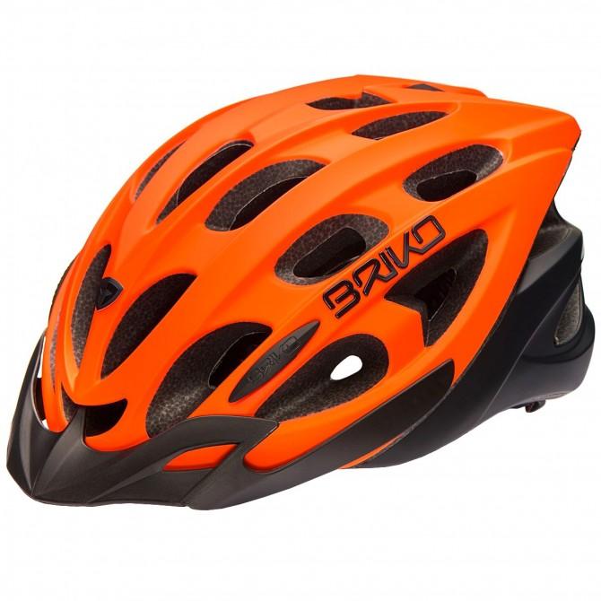 Casco ciclismo Briko Quarter arancione BRIKO Caschi