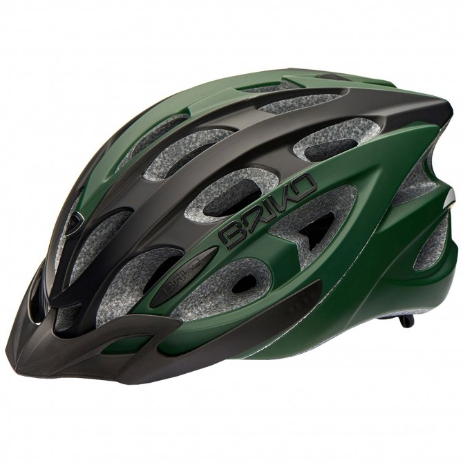 Bike helmet Briko Quarter green