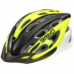 Bike helmet Briko Quarter yellow-black