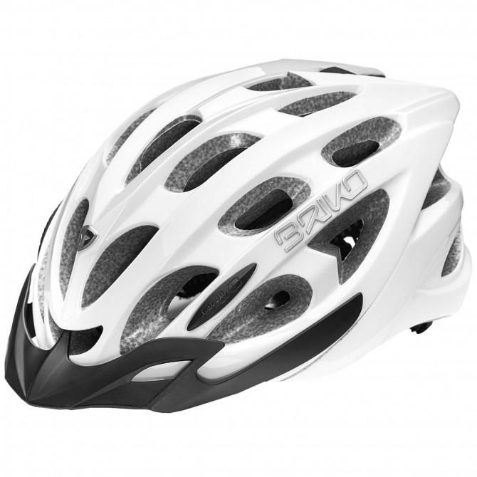 Casco ciclismo Briko Quarter blanco