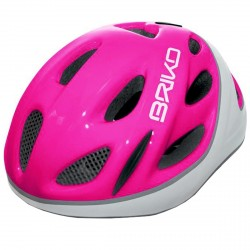 Casco ciclismo Briko Pony Junior fucsia