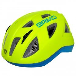 Casco ciclismo Briko Paint Junior amarillo
