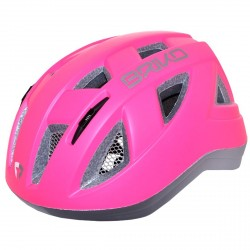 Casco ciclismo Briko Paint Junior fucsia