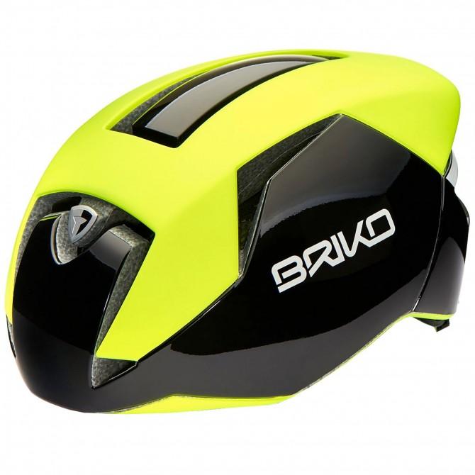Casco ciclismo Briko Gass giallo BRIKO Caschi