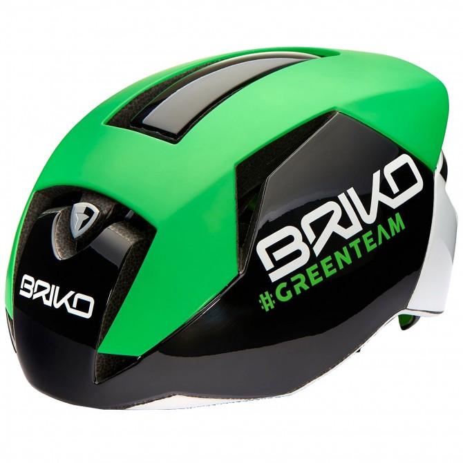 Casco ciclismo Briko Gass verde BRIKO Caschi