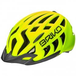 Casco ciclismo Briko Aries Sport amarillo