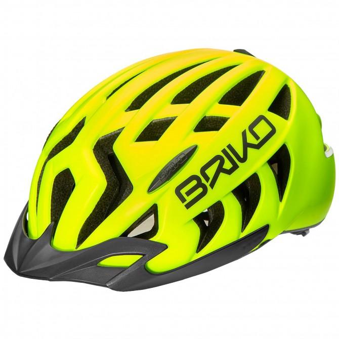 Casco ciclismo Briko Aries Sport giallo BRIKO Caschi