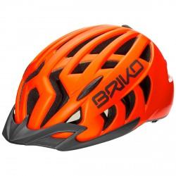 Casco ciclismo Briko Aries Sport naranja