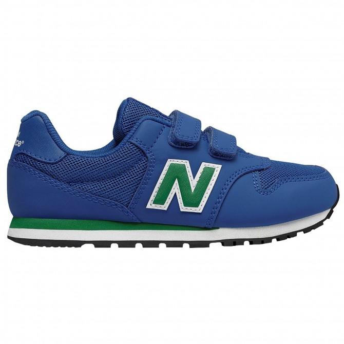 Sneakers New Balance 500 Hook and Loop Junior royal verde Bottero Ski