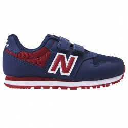 Sneakers New Balance 500 Hook and Loop Junior blu-bordeaux