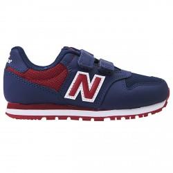 Sneakers New Balance 500 Hook and Loop Junior azul-burdeos