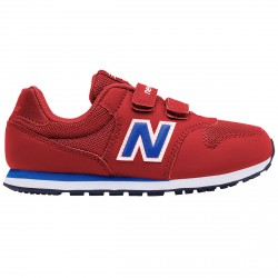 Sneakers New Balance 500 Hook and Loop Junior rosso