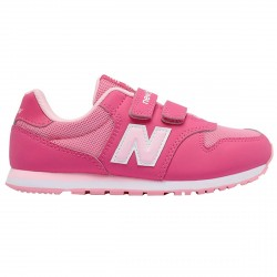 Sneakers New Balance 500 Hook and Loop Girl fucsia