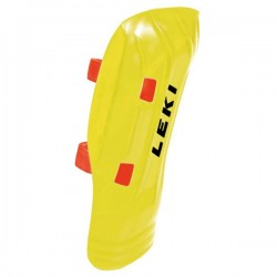 Shinguards Leki WorldCup Pro yellow