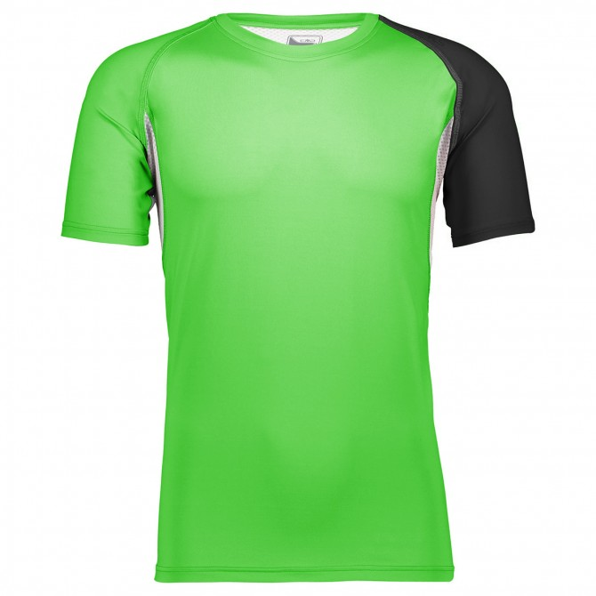 T-shirt trail running Cmp Uomo verde