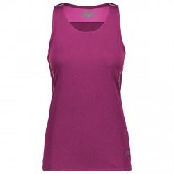 Camiseta trail running Cmp Mujer púrpura