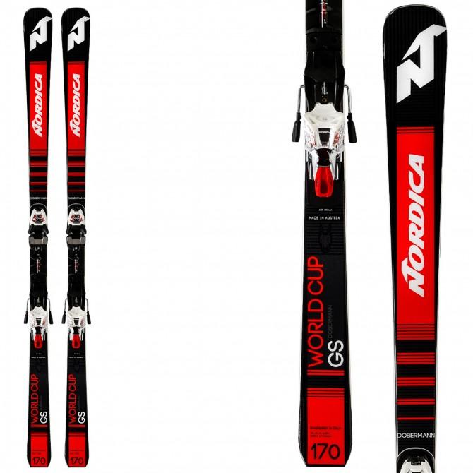 Esquí Nordica Dobermann GS Race + fijaciones Race Xcell 16