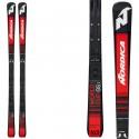 Esquí Nordica Dobermann Gsj Plate + fijaciones Race 10