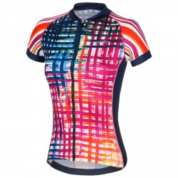 Jersey ciclismo Zero Rh+ Paint Mujer multicolor