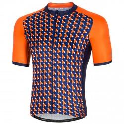 Maglia ciclismo Zero Rh+ Passion Uomo arancione